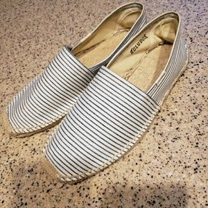 Soludos SZ 10 NEW striped espadrilles shoes